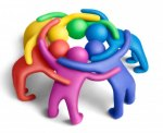 rainbow-huddle