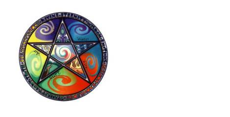 elemental pentacle graphic