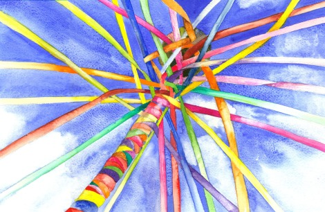 may-pole-watercolor-yvonne-harry