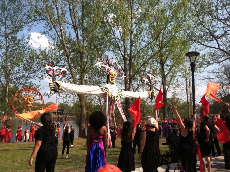 hobt may day tree of life puppet
